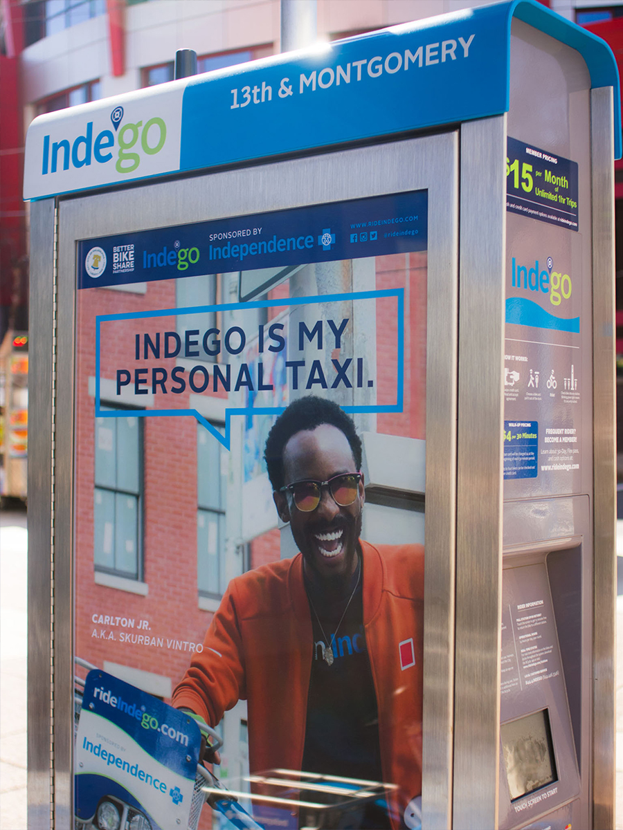 Faces of Indego Ad