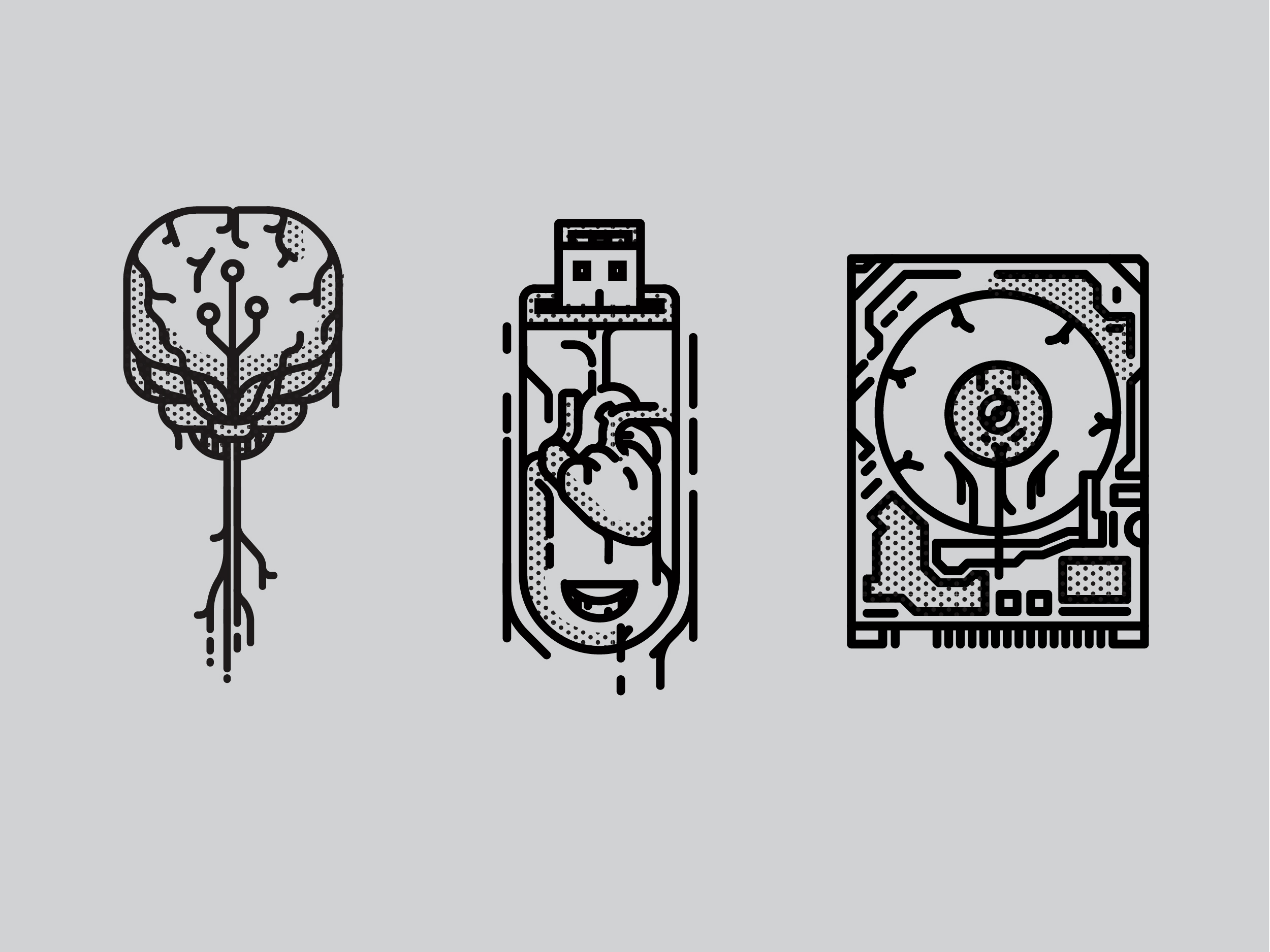 Sprawl Trilogy Illustrations