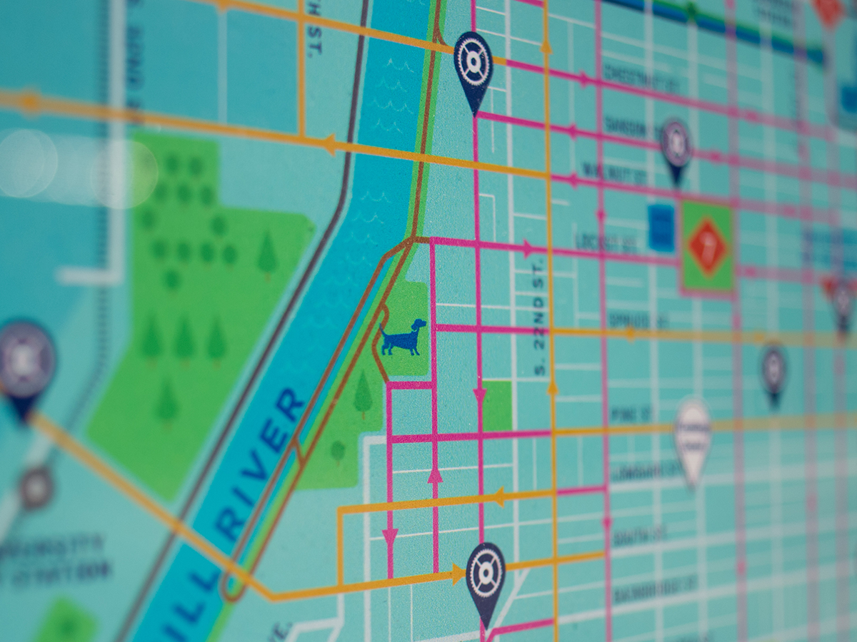 Indego Bike Map Detail