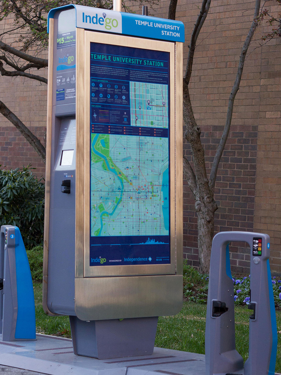 Indego Station Map